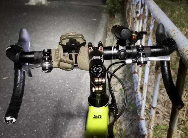BIKE ADAPTを使ってTACTIKKA+をロードバイクに取り付けた